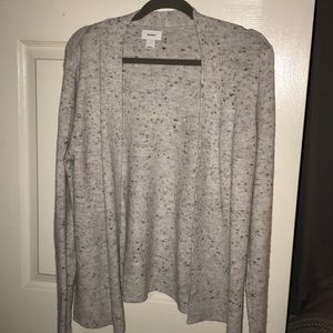 Grey heather cardigan